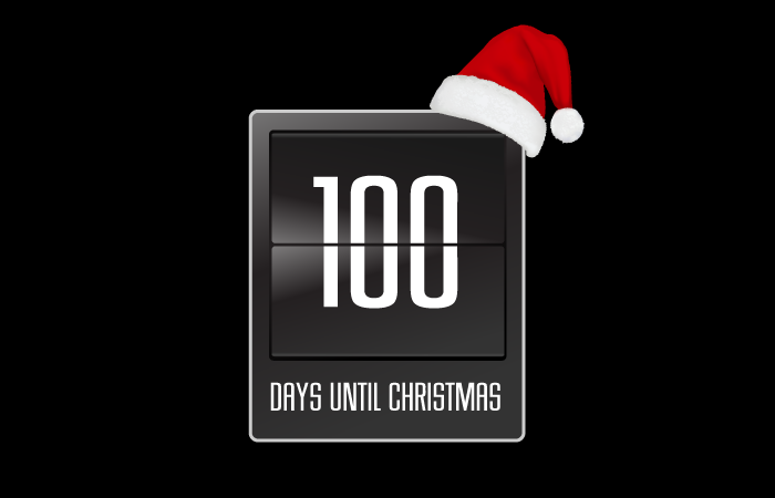 Days To Christmas.100 Days Til Christmas On Content Led Broadcast Pr